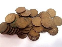 1 Roll Of 1933 P Philadelphia Lincoln Wheat Cents 50 Coins 1