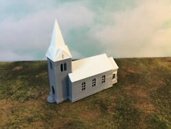 Country Historic Church - N Scale 1160 Easy 5 Pc Assembly Your Small Town Usa