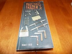 POCKET KNIFE TRADERS PRICE GUIDE Vol. 5 2001 CASE BULLDOG Knives Blade Rare Book