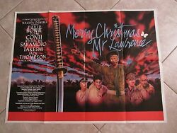 MERRY CHRISTMAS MR LAWRENCE movie poster DAVID BOWIE poster