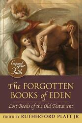 Forgotten Books Of Eden Lost Books Of The Old Testament English Paperback Boo