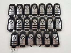 LOT OF 20 FORD EDGE 17-18 REMOTE SMART KEY LESS ENTRY 5-BUTTON ALARM OEM SEDAN