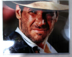 Harrison Ford Signed 8x10 Photograph, Coa, Indiana Jones Collectable