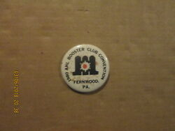 Ahl Maine Mariners Vintage 1980 Booster Club Convention Hockey Pinback Button