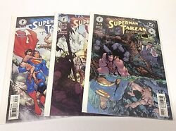 Superman Tarzan Sons Of The Jungle 1-3 Dc/031517 Complete Set Lot Of 3