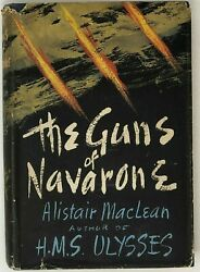 Alistair Maclean / The Guns Of Navarone First Edition 1957 Mystery