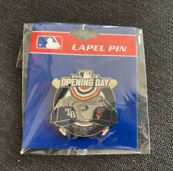 2019 San Francisco Giants Vs Tampa Bay Rays Official Oracle Park Opening Day Pin