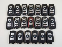 LOT OF 20 BMW 3 5 7 SERIES 09-16 SMART KEY LESS ENTRY REMOTE OEM FOB ANATEL USA