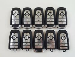 LOT OF 10 FORD FUSION EDGE 17-18 OEM REMOTE SMART KEY LESS ENTRY 5-BUTTON USA US