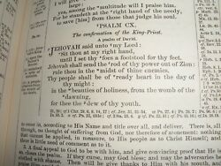 Very Rare Numerical Bible Psalms Jehovah Watchtower Research Nt Quotations