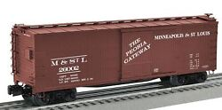 Lionel 6-27460 Minneapolis And St Louis Double-sheathed Boxcar 26002