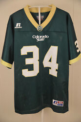 Russell Athletic Colorado State Rams Football Jersey 34 Youth Large 14-16 Csu