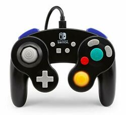 PowerA Wired Controller for Nintendo Switch - GameCube Style: Black - (Black)
