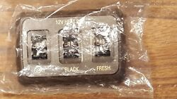 American Technology Ah-asy-3-2-002 12v Heat Pad 3 Gang Triple Water Syst Switch