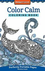 Color Calm Coloring Book: On-The-Go! By Valentina Harper