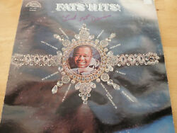Fats Domino Signed Autographed Record Lp In Person Coa