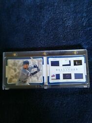 CODY BELLINGER - 2017 NATIONAL TREASURES 1/1 ARMORY - 6X PATCH BOOK RC
