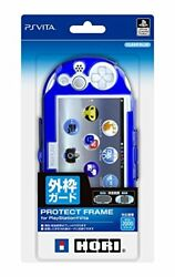 Hori Privacy Protect Case for Playstation Vita (PCH-2000) CLEAR BLUE Japan F/S