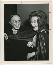 John Zacherle And Ms Tansylvania 1957 Monster Beauty Pageant Sci Fi Convention