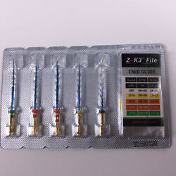 500 Kits Dental Endo Z-K3 Root Canal NiTi Hot Memory Files Thermal 31mm Assorted
