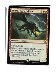 Thundermaw Hellkite Foil Iconic Masters Magic Mtg Out-of-pack Quality