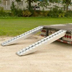 8' X 16 Step Deck Trailer Ramps 20,000 Lb Double Pin-on Ends 20-16-096-02-02-l