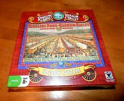 Ringling Bros. And Barnum And Bailey Discovery Bay Vintage Poster Puzzle New Rare