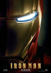 Iron Man Movie Poster Print A  11 X 17 Inches - Robert Downey Jr Poster