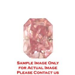 2.32ct Natural Radiant Diamond GIA Fancy Intense Orangey PinkSI1 (2121499625)
