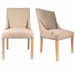 Sole Designs Maire Upholstered Dining Chair Set of 2