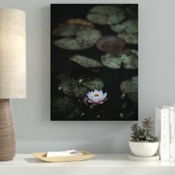 Ebern Designs 'Meditation and Calming (14)' Photographic Print on Canvas