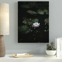 Ebern Designs 'Meditation and Calming (15)' Photographic Print on Canvas