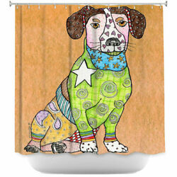 East Urban Home Jack Russell Dog Single Shower Curtain