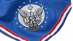Boy Scout Official Licensed Bsa Eagle Scout Embroidered Neckerchief Big 49 X 35