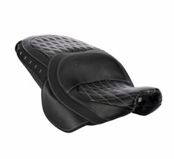 2014-2020 Genuine Indian Motorcycles Leather Touring Heated Seat - 2882563-02
