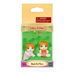 Calico Critters #CC1795 MAPLE CAT TWINS New in Box