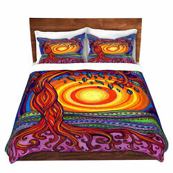 Ebern Designs Shuster Anne Marie Cheung Tree of Life Microfiber Duvet Covers