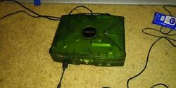 Original Xbox Green Halo Edition Console System with Controllers