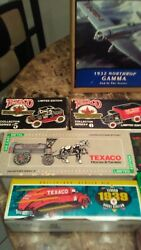 Collectors Series Texaco Diecast Antique Transport Vehicle Coin Banks