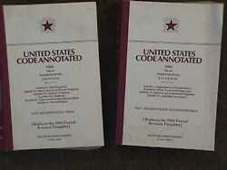 United States Code Annotated. 1994 Title 49 - 2 Book Lot