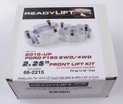 Readylift 66-2215 Billet Aluminum 2.25 Front Suspension Lift For Ford F150