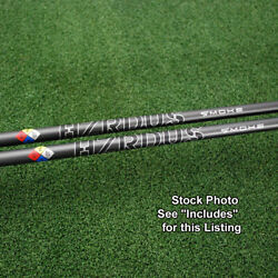 Project X Hzrdus Smoke Black Driver/fwy Shaft Uncut Or W/adapter Tipandgrip New