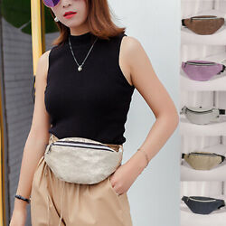 US Women Travel Waist Fanny Pack Belt Bum Bag Pouch Hip Purse Chest Bag Gift