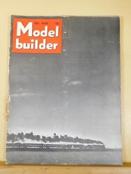 Model Builder 1948 February Lionel Magazine Track Types Be Your Own Scenic Artis
