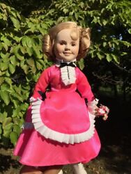 Vintage Shirley Temple Silver Screen The Little Colonel 13 Porcelain Doll ❤️j8