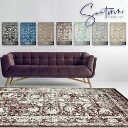 A2Z Large Traditional Bedroom Area Carpets Persian Oriental Floral Patterns Rugs
