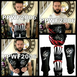 Wwe Finn Balor Ring Worn Hand Signed Summerslam 2018 Set With Proof And Coa Rare