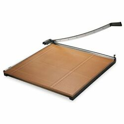 X-acto Commercial Grade Square Guillotine Cutter - Cuts 20sheet - 18 Cutting