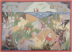 Nazmiyal Collection 'Pinton Freres Gynning Mid Summer Dance' Tapestry