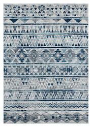 United Weavers Grey Banded Rows Lines Contemporary Area Rug Striped 1815 30772